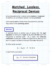 Matched reciprocal lossless.pdf