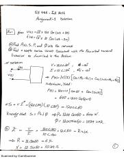 EE456 Assignment 1 solution