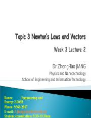 Topic 3 Lecture 2