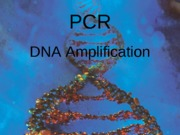 September 14 - Polymerase Chain Reaction  (PCR)b