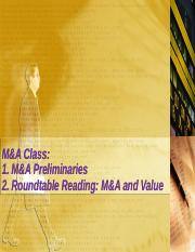 Roundtable-M&A - students