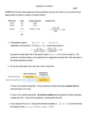 St 380 Normal Approximation Homework Solutions