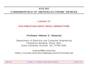 ECE162-Lecture-17-Polysilicon-Gate-MOS-Capacitors