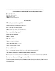 Correctly Written Brainstorming list and Prewriting Outline Example.docx