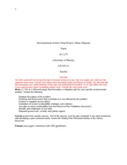 115716046-SCI-275-Week-9-Environmental-Science-Final-Project-Graded