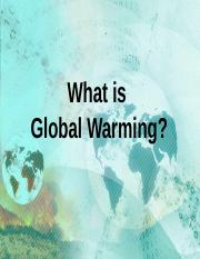 global warming .ppt