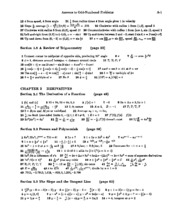 Calculus Solutions 2
