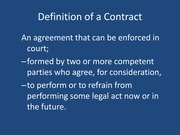 Contracts Lecture F 2013 PPT