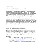 Public Relations essay editor app