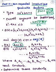 MATH 3001 Eigenvectors Values Notes