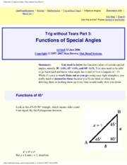 How To Solve Triangles