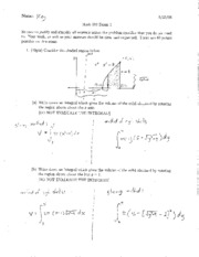 Exam 2 Solutions 2008