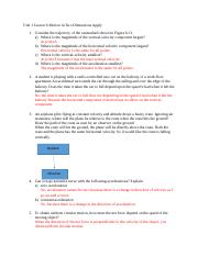 U1 Lesson 6 Motion in Two Dimensions Apply.doc