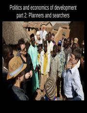 Planners and searchers