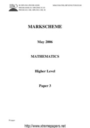 MathematicsHL 06 paper3 ms