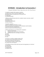 ECON101 Sample MC Questions for Final.pdf