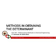 Lecture 02B - Methods in Getting the Determinant.pdf