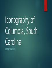 Iconography of Columbia, South Carolina final
