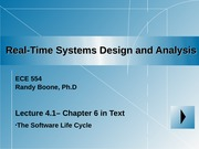 Lecture 4_1 _Software Life Cycle