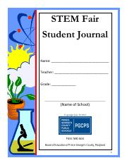 STEM Fair Student Journal (1)