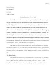 Creative Destruction Research Paper