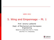 AERO 3002 2014-Lecture 05-Wing and Empennage Pt. 1