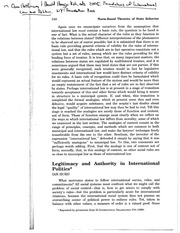Hurd 1999 Legitimacy and Authority in International Politics