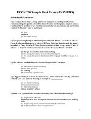 ECON 200 Sample Final Exam Answers.docx