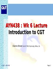 Lecture 6 Intro to CGT.ppt