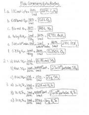 2 Step Mole Conversions Worksheet - 2 step mole conversions ...