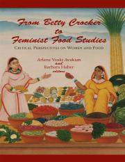 From Betty Crocker to Feminist Food Studies- Critical Perspectives on Women and Food