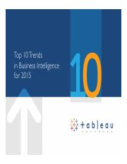 top10trendsinbusinessintelligencefor2015