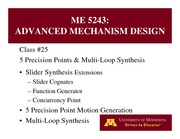 Lecture 25 on Advanced Mechanism Design
