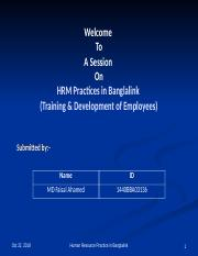 HRM Practices in Banglalink.ppt