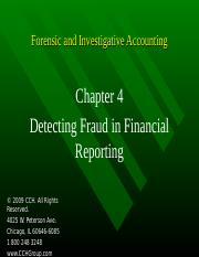4Ed_CCH_Forensic_Investigative_Accounting_Ch04.ppt
