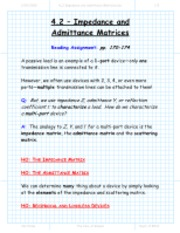 section_4_2_Impedance_and_Admittance_Matricies_package