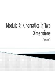 4-Kinematics in Two Dimensions.pptx