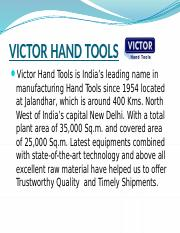VICTOR HAND TOOLS.pptx