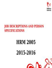 Job Descriptions and Person Specifications 2015-16.pptx