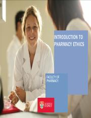 Intro to Pharmacy Ethics-Yr 1.2016 FINAL(1)