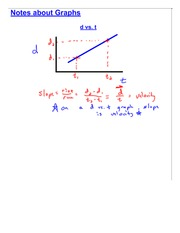 Accelration and Velocity Graphs