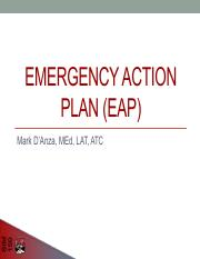 1 Emergency Action Plan