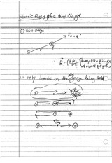 POINT CHARGE NOTES