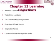 Chapter 13 Trade Union