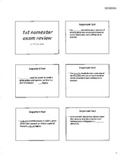 1ST SEMESTER EXAM REVIEW-2