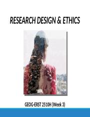 GEOG 2510 Lecture 3 (Research design & ethics) F16.pptx