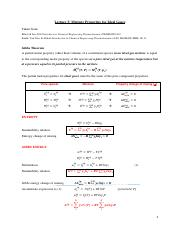 Lecture 5 ideal gas mixtures
