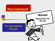 The Recruitment Process (Presentation)