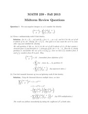 math239-f13-MTreview-Sol