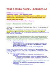 TEST 2 STUDY GUIDE my version